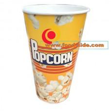 Бумажный стакан для попкорна, V18, объём стакана 0,5 литра