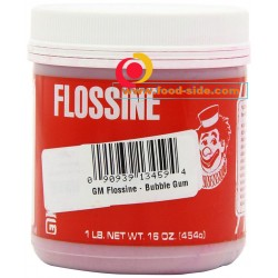 Снова в продаже краситель к сахарной вате Bubble Gum, Flossine, Gold Medal, США