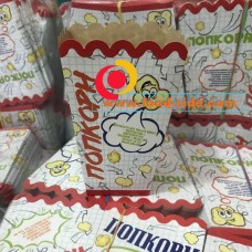 "Квадратные стаканы для попкорна V24, ""Школьные"""