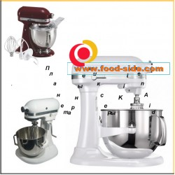 Планетарные миксеры Artisan, KitchenAid