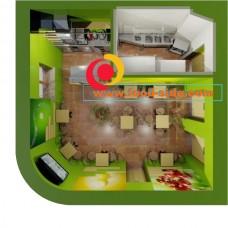 Проектирование помещения кинотеатра под слаш-бар, фреш-бар