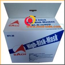 Одноразовая маска-респиратор, N95, DACH, Германия