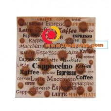 Бумажные салфетки, Кофе, 33х33 см, пачка 20шт.
