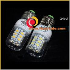 Энергосберегающая LED лампа 12 Ватт с цоколем E27, теплый белый