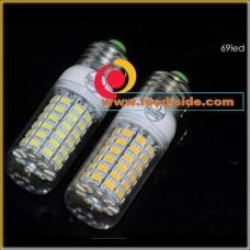 Энергосберегающая LED лампа 20 Ватт с цоколем E27, теплый белый