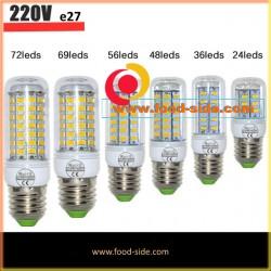 Энергосберегающие LED лампы E27 различной мощности