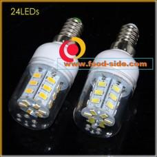 LED лампа 7 Ватт с цоколем E14, теплый белый