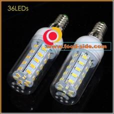 LED лампа 12 Ватт с цоколем E14, теплый белый