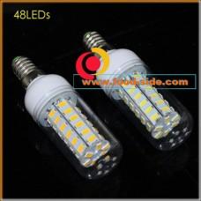 LED лампа 15 Ватт с цоколем E14, теплый белый