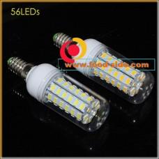 Светодиодная LED лампа кукурузного типа 18 Ватт с цоколем E14 110-240В, белая