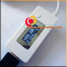 USB тестер с замером емкости аккумулятора
