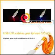 LED кабель для Iphone 5/5s/5c/6/6plus/ipad 4/ipad mini