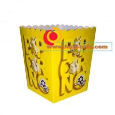 Картонные стаканы для попкорна, V85, 2.5 литра