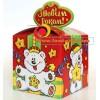 Новогодняя упаковка подарков, Бант Умка