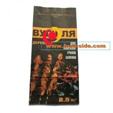 Бумажный мешок для угля и брикетов, 2.5 кг