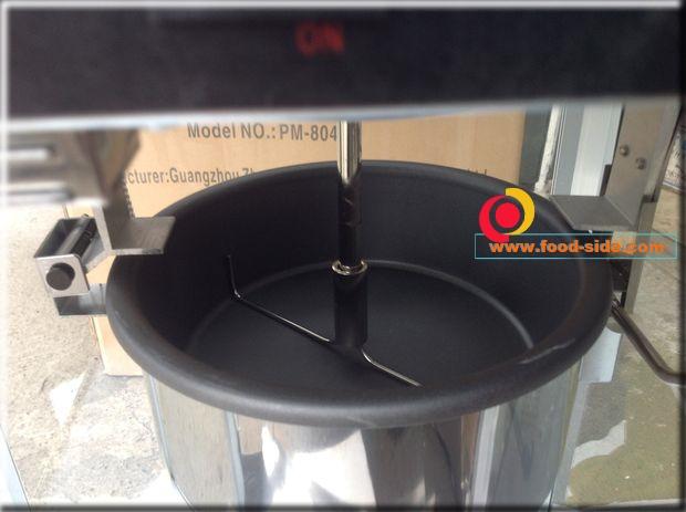 Тефлоновое покрытие котла аппарата для попкорна