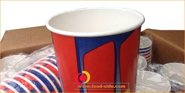 Попкорн упаковка - стаканы попкорн 0,7литра