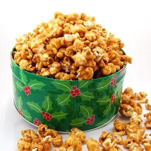 карамелизованный попкорн