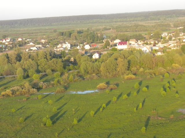 Полёт под Киевом на параплане