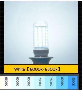 Светодиодная LED лампа кукурузного типа 12 Ватт с цоколем E14 110-240В, белая
